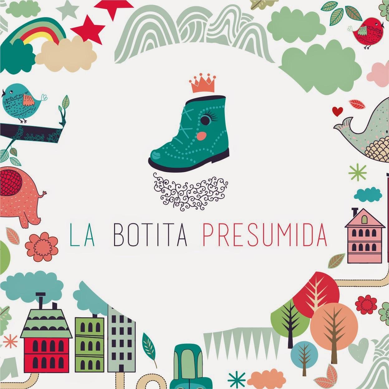 branding-logotipo-design-diseño-la-botita-presumida-zapateria-complementos-saron-tienda-niños-azul-rosa-bota-zapato-verde-ballena-elefante-nubes-coche-casas-botas-publicidad-tarjeta-visita