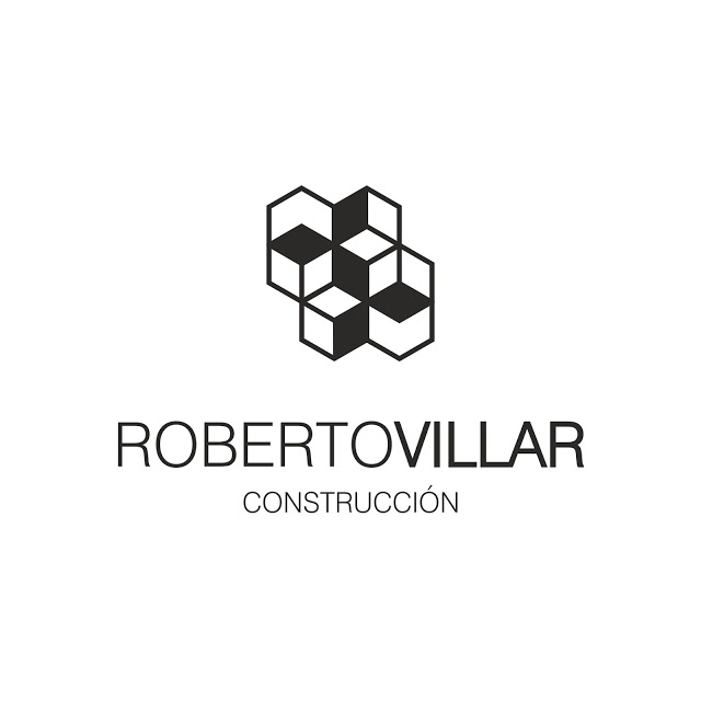 robertovillarconstruccióndiseñodesignlogotipoimagencorporativabrandingmarcalogomodernogeometrico